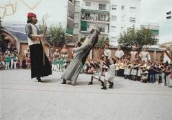 Representació de la Dansa de la Batalla de Montornès