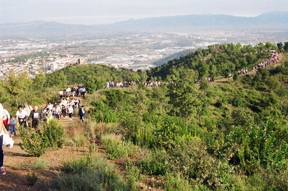Resultado de imagen de marxa popular montornes del valles 2017