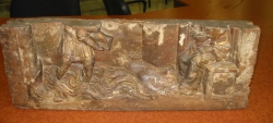 Fragment del retaule de la capella de Sant Jaume d'Ordila (fons de can Masferrer)
