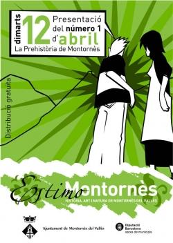Cartell de promoció de la col·lecció Estimo Montornès
