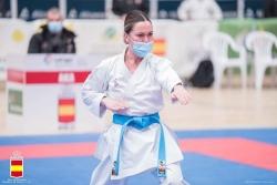 María López competint a la Lliga Nacional (imatge: RFEK)