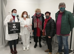 Personal sanitari del CAP ha rebut el material elaborat per la xarxa Cuidem-nos Montornès