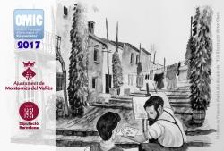 Calendari de 2017, dedicat al carrer de Francesc Macià durant la dècada de 1950. Il·lustració de Víctor Otero