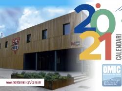 Calendari de 2021 dedicat al Centre Juvenil Sputnik