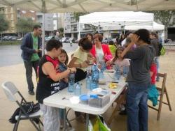 Tallers en la festa del reciclatge (19 de maig de 2012)