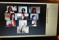 Participants en el curs de formació sobre Emprenedoria Social