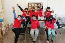 L'equip de l'Escola Can Parera que participa en el Torneig Mundial. (imatge: Club d'Escacs Montornès)