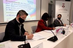 Signatura de l'acord entre Ajuntament i Generalitat per al desenvolupament del Servei d'Atenció integral a les persones LGBTI