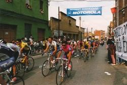 Pas per Montornès de la 73a Volta Ciclista a Catalunya, l'any 1994. (Imatge: AMMV)