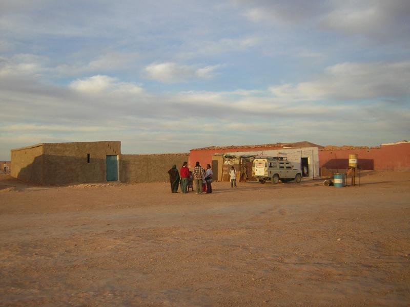 Centre de joventut d'Amgala, daira del Sàhara Occidental agermanada amb Montornès