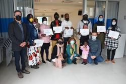 Participants en el curs Lletres per a tothom 2020 a Montornès