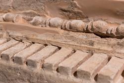 Restes arqueològiques al jaciment Mons Observans