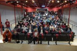 Foto de família al final de l'acte de presentació de la 7a edició de La Remençada