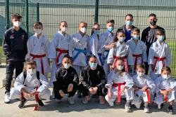 Equips del Club Karate Montornès participants en el Campionat de Catalunya de Clubs (imatge: CK Montornès)