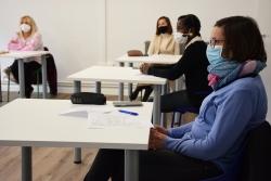 .Participants en el programa Dones amb Talent (imatge d'arxiu)