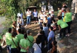 14/09/2013 - Visita teatralitzada refugi antiaeri Ca l'Arnau