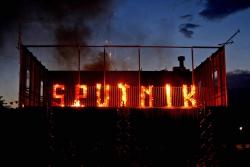Espectacle pirotècnic per inaugurar l'Sputnik (imatge: Josep Flores)
