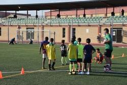 Entrenaments al camp de futbol amb el Club Futbol Montornès