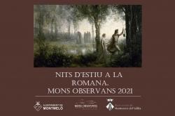 Cartell de la programació Nits d'estiu a la romana 2021