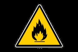 Senyal d'advertiment per a la prevenció d'incendis