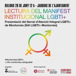Manifest del dia de l'orgull LGBTI+
