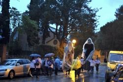 Cercavila - Els gegants sota la pluja
