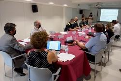 Sessió de treball de la Junta Local de Seguretat
