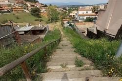 Accés tancat des del carrer d'Andalusia