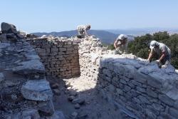 Consolidació de la cisterna del Castell de Sant Miquel
