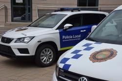 Vehicles de la Policia Local de Montornès