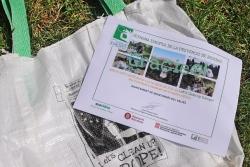 Diploma lliurat a l'Ajuntament per la participació de Montornès en el Let's Clean Up Europe 2021