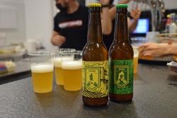 Les dues cerveses de la Festa Major 2021.