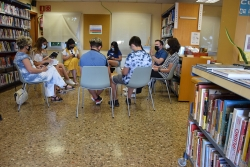 Trobada literària amb l'autor montornesenc Arturo Padilla (juny de 2021)
