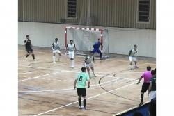 Un moment del partit entre el Montornès i el Ripollet (imatge: AE Montornès Futbol Sala)