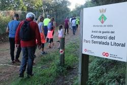 La Marxa Popular al seu pas per les muntanyes del Parc de la Serralada Litoral (2019)