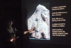 19-11-2009 - Xerrada sobre escriptura jeroglífica a la Biblioteca