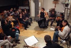 21-11-2009 - Concurs de música flamenca a l'església de Sant Sadurní