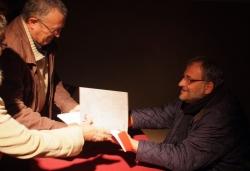 """26-11-2009 - Nit d'art i literatura: Presentació del llibre """"Àtlas. Correspondència 2005-07"""""""
