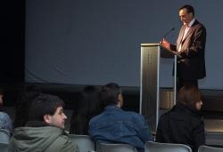 """26-11-2009 - Vespre d'art i leteratura: Presentació del DVD """"Montornès, 10 anys al Parc de la Serralada Litoral"""""""
