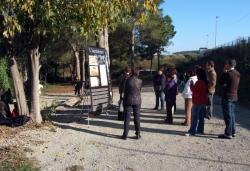 28-11-2009 - Visites guiades al refugi antiaeri de ca l'Arnau
