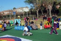 28-11-2009 - Festa infantil amb inflables i jocs a la Bòbila