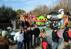 30-11-2013 - Inflables, animació i botifarrada al carrer del Molí
