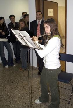 22-11-2006 - Portes obertes a l'equipament del c. de Can Parera i demostració dels alumnes de l'Escola Municipal de Música