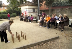 25-11-2006 - Campionat de bitlles i botxes als jardins de Can Xerracan