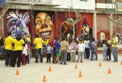 25-11-2006 - Gimcana menuda a la plaça de Joan Miró