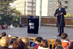 Espectacle de màgia (Imatge d'arxiu)