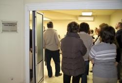 """30-11-2006 - Inauguració de l'Aula d'Informàtica """"Caixa Manlleu"""" del Casal de Cultura"""