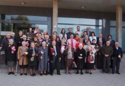 25-11-2007 - Foto de família amb els homenatjats