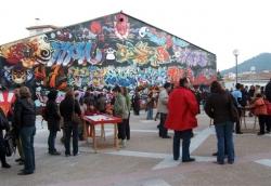 29-11-2007 - Jocs populars gegants a la plaça de Margarita Xirgu