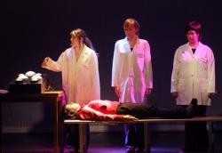El grup avançat de l'Aula Municipal de Teatre (Imatge: Arxiu)